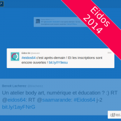 Comment live-tweeter la journée ?