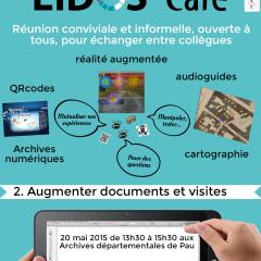 2e édition «Eidos-Café»: Le numérique pour augmenter documents et visites