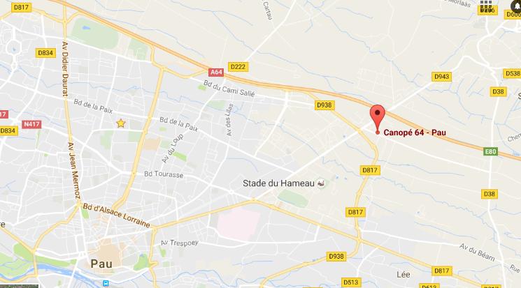 canope-64-pau-google-maps