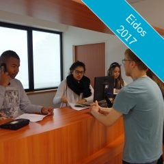 Les élèves  du Lycée Professionnel Baradat vous accueillent !