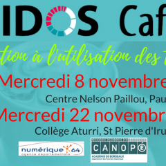 7e Eidos-café : initiation à l'utilisation des tablettes en classe