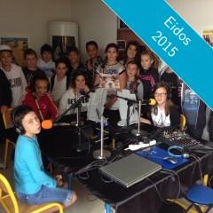 Une émission de webradio scolaire en direct à 16h