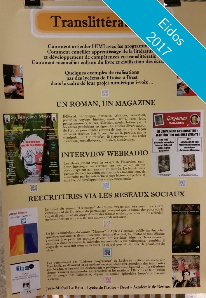 Poster translittérature (projet i-voix)